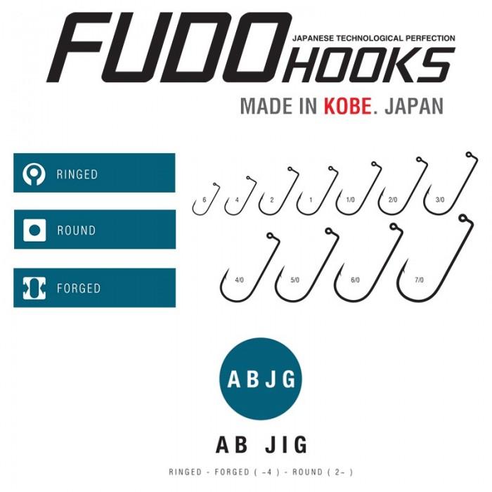 Fudo AB Jig hook 4/0 (Bulk)